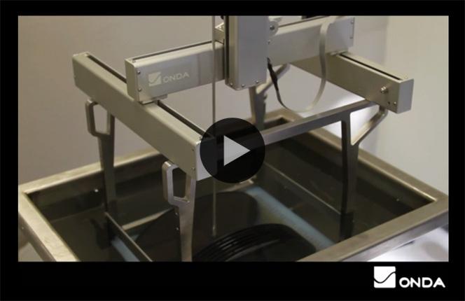 Ultrasonic/Megasonic Cleaning Tank Scanner (CTS)